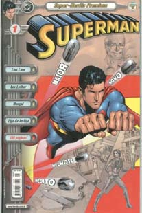 SUPERMAN PREMIUM n°01 - EDITORA ABRIL